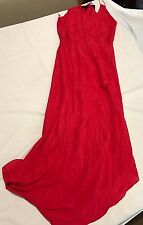 Truese Apart Dress Size 10 Raspberry