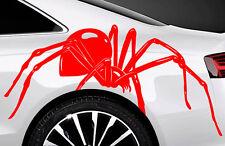 2x Spider Spinnen Autoaufkleber Seitenaufkleber 60cm Tuning SpMan Tribal Tattoo
