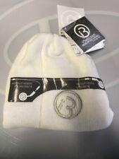 NEW i360 v.30/30405BC  Sound Music Audio WHITE Winter Beanie Hat Headphones Mp3