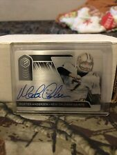Morten Andersen 2020 Elements Steel Signatures 037/199 AUTO