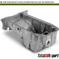 New Engine Oil Pan Fits Chevrolet Aveo 5 Pontiac G3 1.6L 25181235