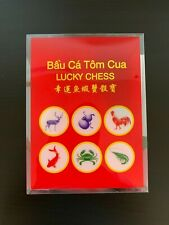 Tet & Lunar New Year Bau Ca Tom Cua Board Game New Year Of The Ox W/ Dice Shaker