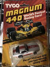 VINTAGE TYCO 440 MAGNUM 1980 CORVETTE SLOT CAR UNOPENED ORIGINAL PACKAGE #8912