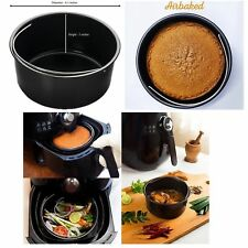 Air Fryer Baking Dish Accessories Fits Philips, Gowise, NuWave, Power,Farberware