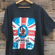 The Who Moving On Tour 2019 Concert T-Shirt
