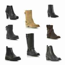 Dune 100% Leather Ankle Boots for Women