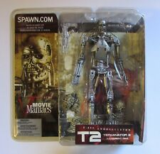 T-800 ENDOSKELETON action figure McFarlane T2 Terminator 2 Movie Maniacs NIB