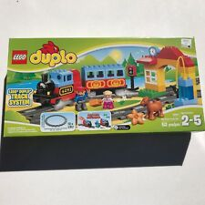 Duplo Deluxe Train Set LEGO Track System Horse Motor Sounds Fine Motor Skill New