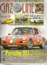 GAZOLINE 131 PORSCHE 911 2L FACEL VEGA FACELLIA ALFA 26
