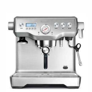 Breville BES920XL the Dual Boiler  Espresso, Silver Refurbished