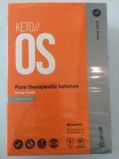 KETO OS Orange Dream  Pruvit 30 Day OTG Packets Box Caffeine Free Ketones
