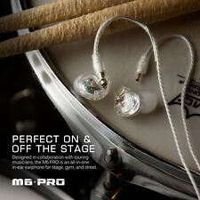 M6 Pro Universal-Fit Noise-Isolating Musician'S In-Ear Monitors With Detachable