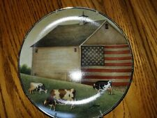 Ltd Edition Lowell Herrero Plates, American Folk Art Collection, Franklin Mint