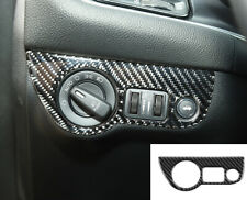 Real Carbon Fiber Headlight Switch Cover Trim for Dodge Charger/Challenger 2015+