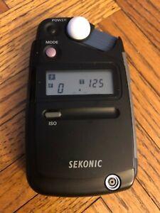 Sekonic L-308B Flashmate Incident and Reflected Light Exposure Meter