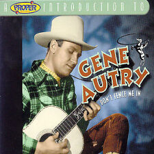 New listing GENE AUTRY-DON'T FENCE ME IN CD (SOUTH OF THE BORDER)