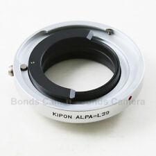 Kipon Alpa Kern MACRO-SWITAR 50mm 1.8 1.9 Lens to Leica M39 L39 mount adapter