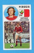 PANINI CALCIATORI 1976/77-Figurina n.221- CECCARINI - PERUGIA -Rec