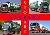 EDDIE STOBART POSTER