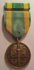 1898 U.S. Army Spanish War Service Medal with RIBBON