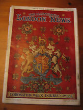 ILLUSTRATED LONDON NEWS CORONATION WEEK DOUBLE NUMBER 1953