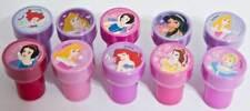 Disney Princess Jasmine Belle Aurora Ariel Belle Cinderella 10 Stamps Party