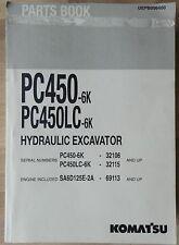 Komatsu escavatori idraulici PC 450 - 6 K, PC 450 LC - 6k catalogo parti di ricambio