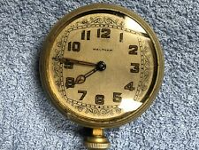 "Vintage 8 Day Waltham Car  /  Auto Clock 2.75"""