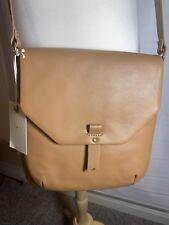 NEW Women's LUCKY BRAND Tyna Crossbody Purse Tan Messenger Bag Leather