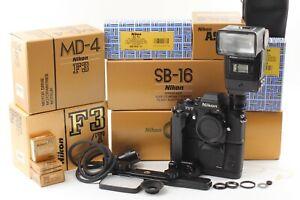 【 TOP MINT / Complete Set】 Nikon F3/T F3T HP 35mm SLR Film Camera From Japan 346