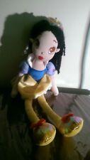 """DISNEY Store Princess SNOW WHITE Plush 15"""" Doll Girl's Toy"""
