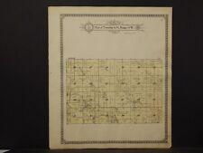 Missouri, Monroe Cty. Map, Clay&Washington 0r Union&Jackson Township 1917 K6#45