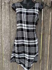 NEW Tartan Dress Size S