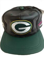 New Green Bay Packers Superbowl XXXI OSFA Leather Flatbrim 1997 Vintage Hat