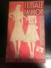 FEMALE FASHION By Walter T. Foster Art Books PB Vintage F12