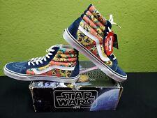 RARE- VANS-STAR WARS Sk8-Hi Reissue Shoes BRAND NEW! Yoda Aloha MENS SIZE 13.