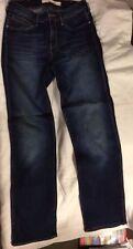 Wrangler Indigo, Dark wash Straight Leg High Jeans for Women