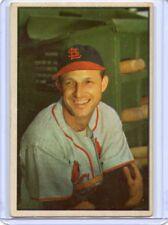 1953 BOWMAN COLOR #32 STAN MUSIAL, ST. LOUIS CARDINALS, HOF, 061018
