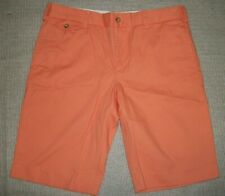 NWT,Polo Ralph Lauren Sport women's Chino Casual Short-SIZE- 6  ORANGE