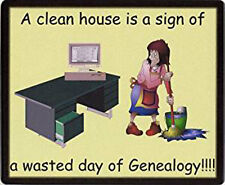Family History Mousemat - Wasted Day