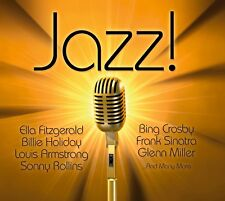 CD Jazz von Various Artistst 4CDs mit Ella Fitzgerlad, Billie Holiday, Louis Arm