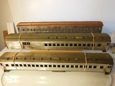 (3) Walthers Partially Built HW Cars (2) Coachs & Combine Unpainted