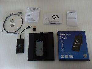 Creative Sound Blaster G3 - USB DAC Amplifier for PC/Nintendo/PS4 - Mic/Opt Mint
