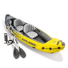 Canoa gonfiabile Intex 68307 Explorer K2 Kayak 2 persone remi pompa 2018 - Rotex