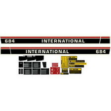 NEW 684 INTERNATIONAL HARVESTER TRACTOR COMPLETE DECAL KIT HIGH QUALITY 🎯