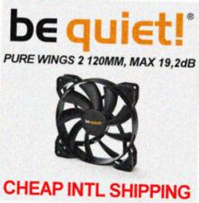 [be quiet!®] PURE WINGS 2 SILENT 120mm CaseFan  Low noise 19.2dB Cooler 12cm CPU