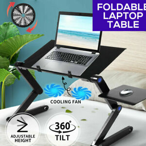 360° Adjustable Notebook Desk Tray Portable Laptop Stand Lazy Lap Sofa Bed PC