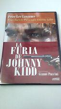 "DVD ""LA FURIA DE JOHNNY KIDD"" COMO NUEVA GIANNI PUCCINI PETER LEE LAWRENCE"