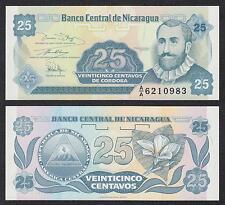 Nicaragua  25 Centavos  1991  Pick 170a(2)  SC = UNC