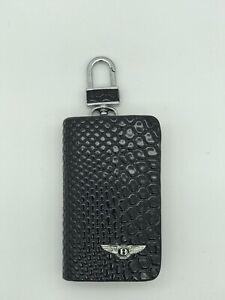 Key Chain Case  Black For Bentley